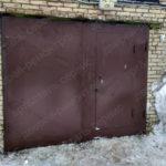 После установки гаражных ворот в Люберцах