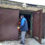 Установка гаражных ворот в Люберцах