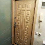 Установка доборов и наличников на входную дверь на Тверской