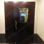 Изготовление и установка двери со стеклом
