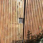 Замена замка в садовой калитке в г. Королев